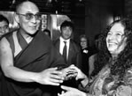 Neima and the Dalai Lama